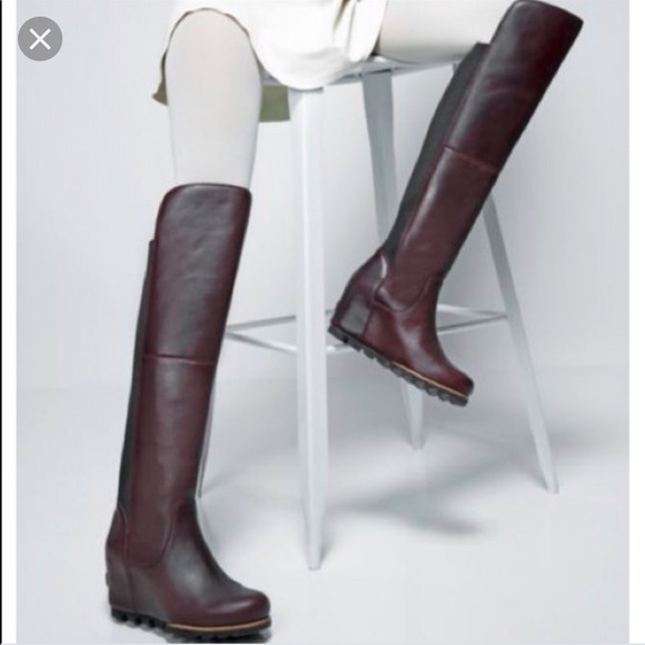 reputable site new arrive get online Sorel Shoes | Fiona Over The Knee Waterproof Wedge Boot | Poshmark